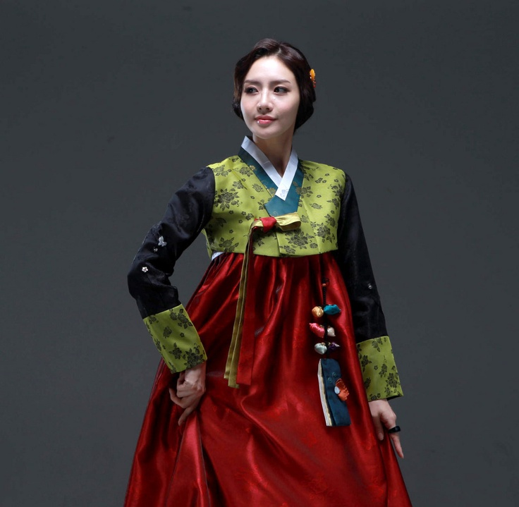 "Hanbok, Korean Traditional Dress: Hanbok (South Korea) or Chosŏn-ot (North Korea) is the traditional Korean dress. It is often characterized by vibrant colors and simple lines without pockets. Although the term literally means ""Korean clothing"", hanbok today often refers specifically to hanbok of Joseon Dynasty and is worn as semi-formal or formal wear during traditional festivals and celebrations."