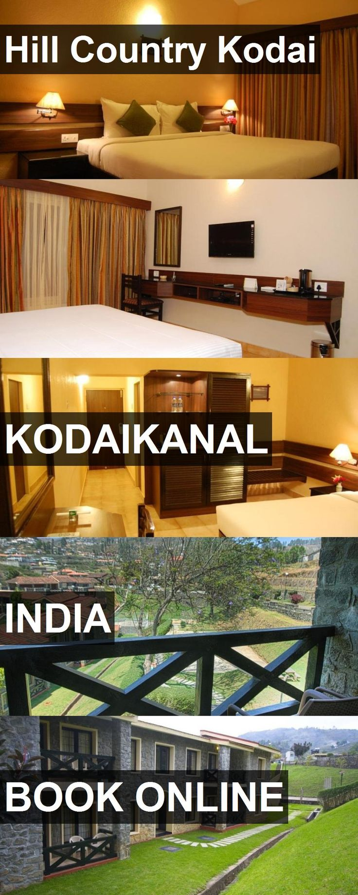 Hotel Hill Country Kodai in Kodaikanal, India. For more information, photos, reviews and best prices please follow the link. #India #Kodaikanal #travel #vacation #hotel