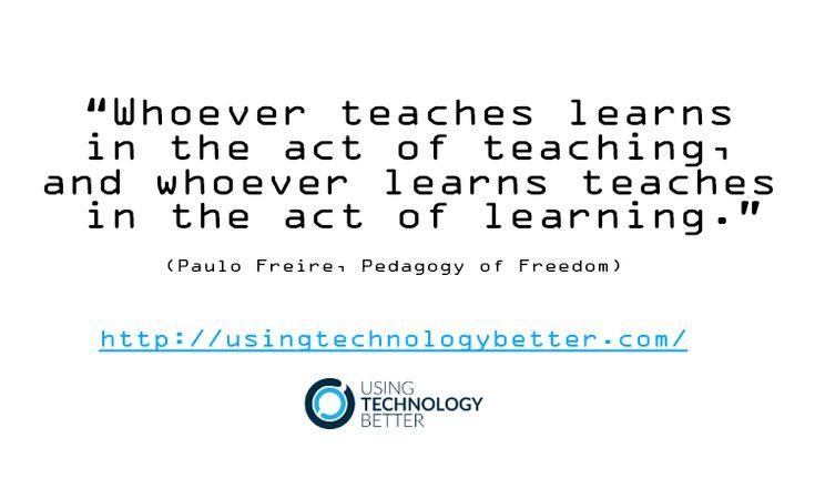 Whoever #teaches #learns in the act of #teaching, and whoever learns teaches in the act of #learning. #quote #edtech
