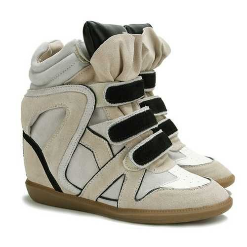 Isabel Marant Sneakers Bekett Black Tongue