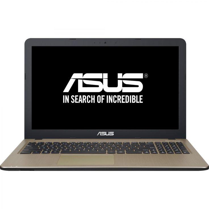 "Laptop ASUS X540SA-XX004D cu procesor Intel® Celeron® N3050 1.60GHz, Braswell, 15.6"", 4GB, 500GB, DVD-RW, Free DOS, Black - eMAG.ro"
