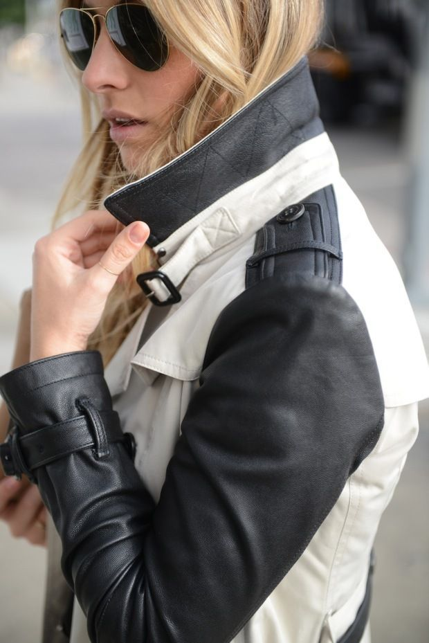 Leather Motorcycle Jackets for Women | Found on cottonpopsock.com