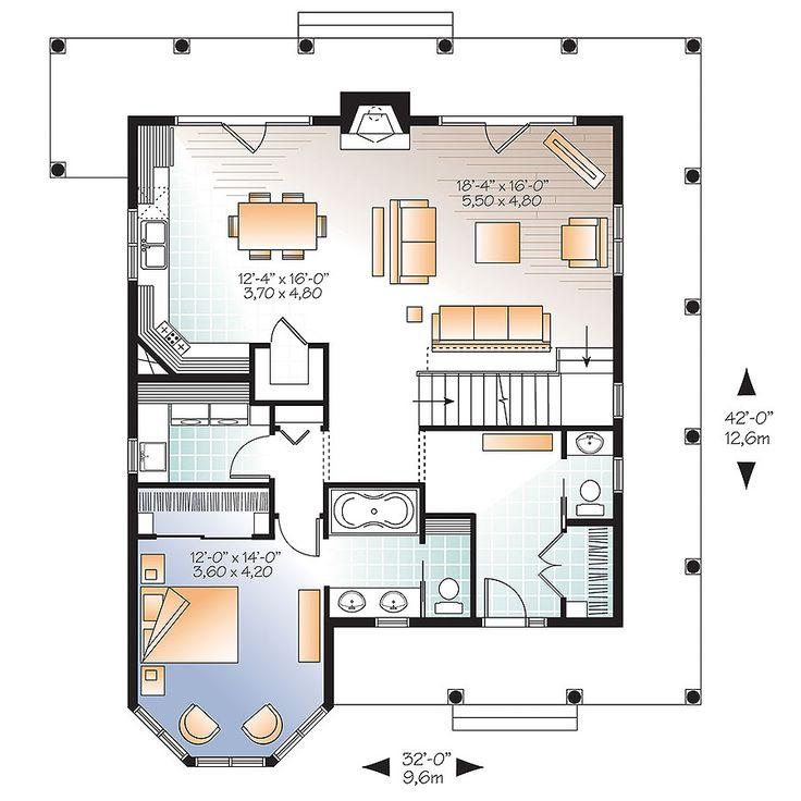 382 Best House Plans Under 2000 Sq Ft Images On Pinterest