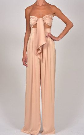 Nude Bandeau Top & Natasha Trousers