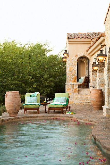 poolside: Ideas, Swimming Pools, Dream Pools, Outdoor Living, Dream House, Backyard, Outdoor Spaces, Garden, Poolside Dreaming
