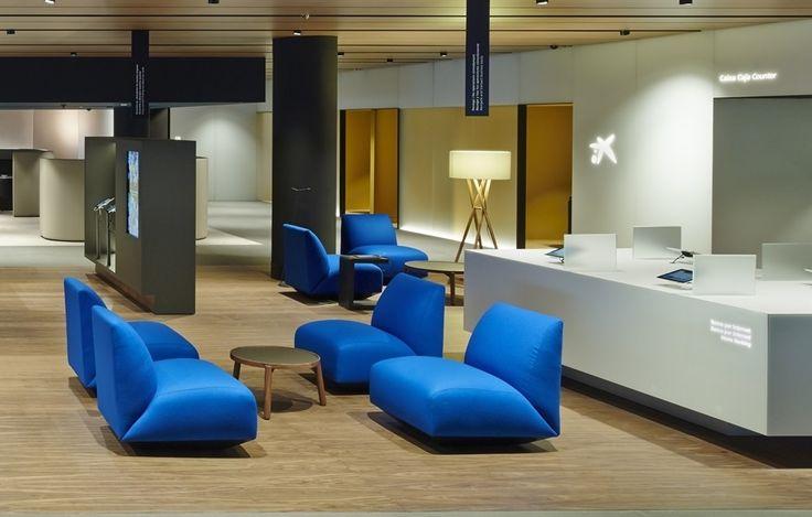 La Caixa Office Manfred Sofa