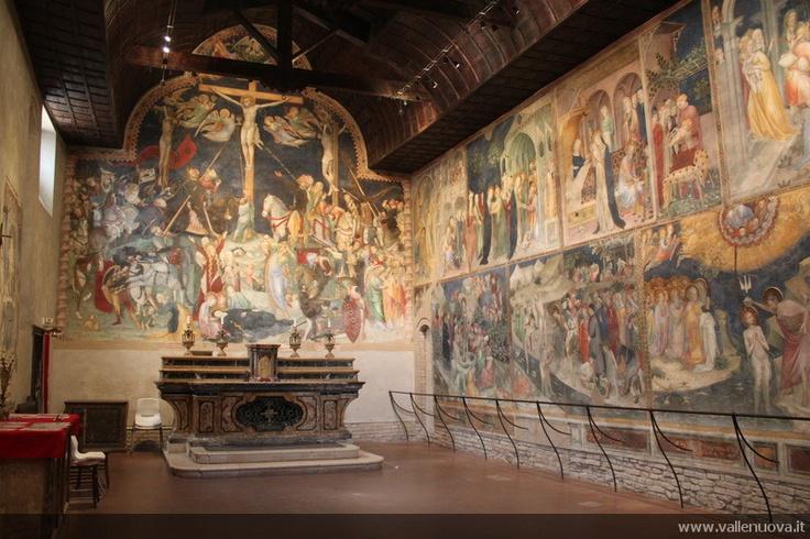Saint John's Oratory, Urbino, Le Marche  Stunning Medieval frescoes