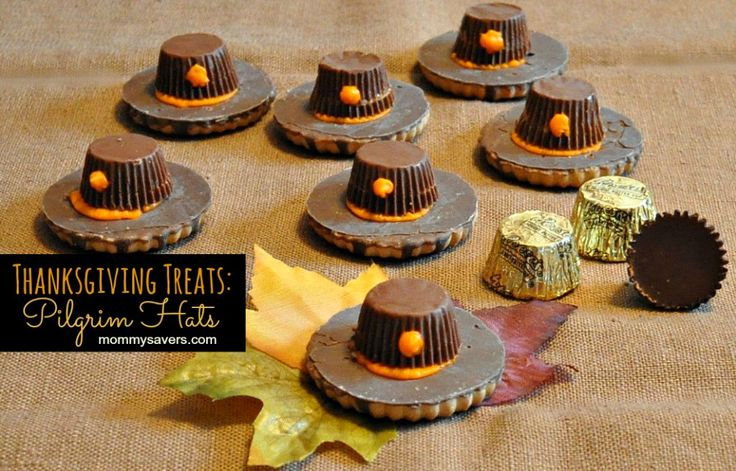 kid turkey cookie desserts | Pilgrim Hat Cookies - They are super-easy Thanksgiving Treats to make ...