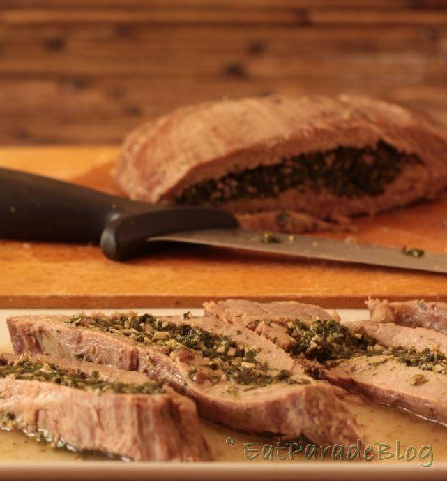 Per la tasca ripiena utilizzo di solito lo spinacino, un taglio di seconda scelta, ma molto gustoso e adatto alle lunghe cotture.