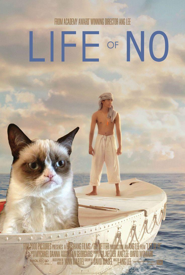 "Grumpy Cat stars in ""Life of No."""