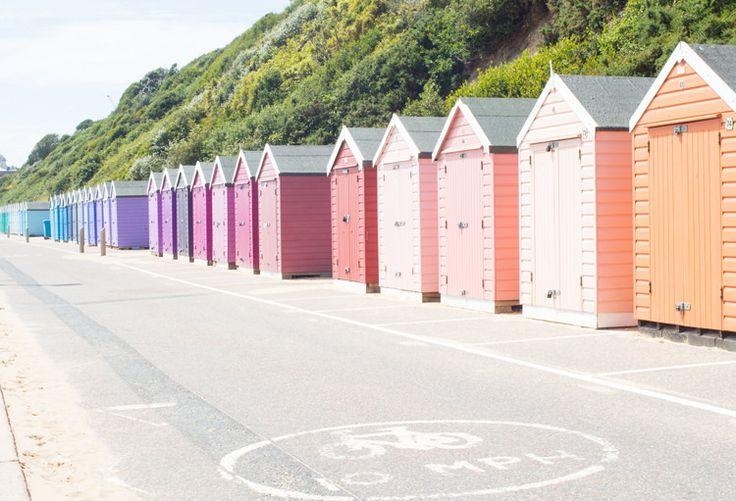 Ombre Beach Huts, Bournemouth