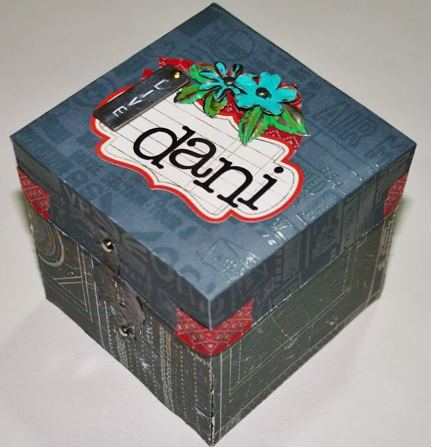 Mundo Creativo: Scrapbooking: Caja explosiva Explosive box