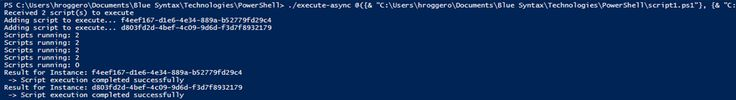 Multithreading with PowerShell using RunspacePool
