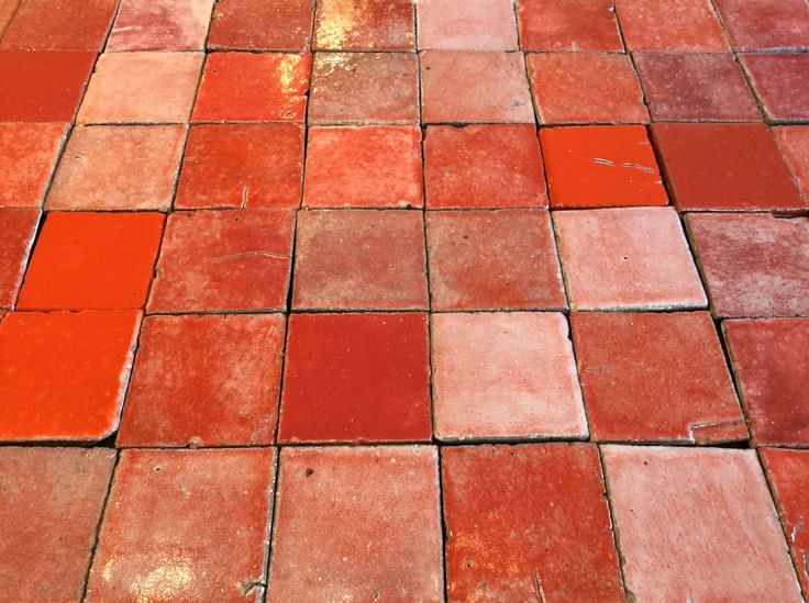 127 Best Colour Orange Pink Amp Red Tiles Images On