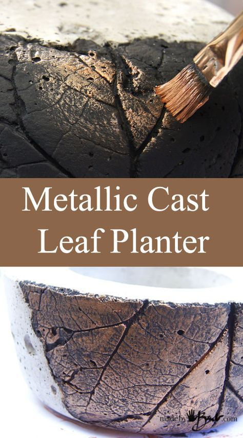 <p>As we know; one thing always leads to another... As is true herewiththis marriage of concrete bowl casting andrelief casting. Don't worry, it's also super easy. You can use any kind of foliage that has a defined vein pattern or…</p>