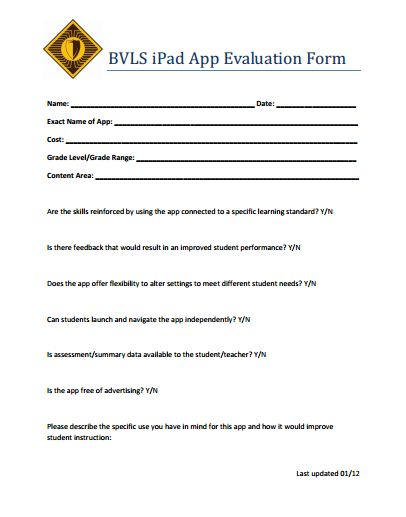 126 best Ed Tech Ideas images on Pinterest Learning, Educational - sample instructor evaluation form