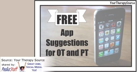 Free Apps for OTs & PTs – Yoga and Handwriting  - pinned by @PediaStaff – Please Visit ht.ly/63sNtfor all our pediatric therapy pins