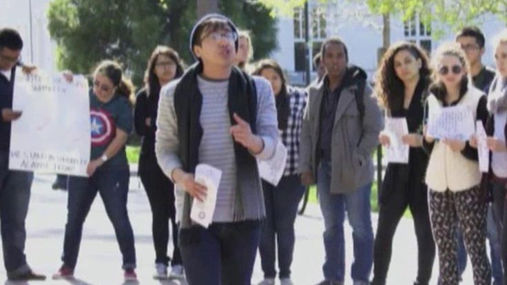 California college student claims pro-Trump message an act of 'violence' | Fox News