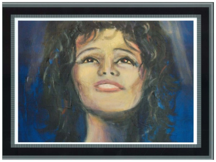 Original painting of Whitney Houston by Penny Arnold www.pennyarnold.com