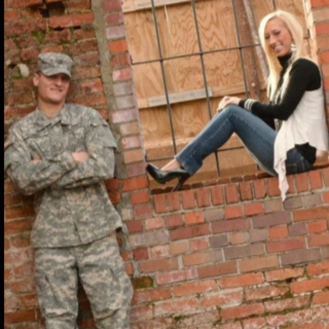 Army engagement pictures