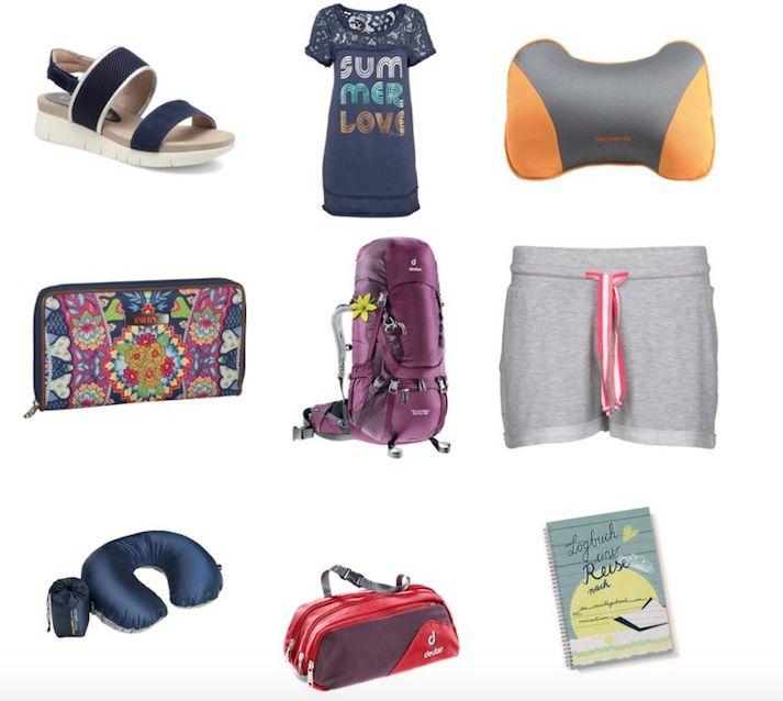Fesche Travel Essentials für unterwegs, schick und bequem. Plus: mein absoluter Tipp für einen stylishen und frauengerechten Backpack. Alle Informationen und Link hier: http://margute.com/fesche-reise-essentials-travelistas/