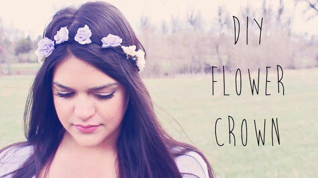 GlamMandie: DIY Flower Crown + Lookbook