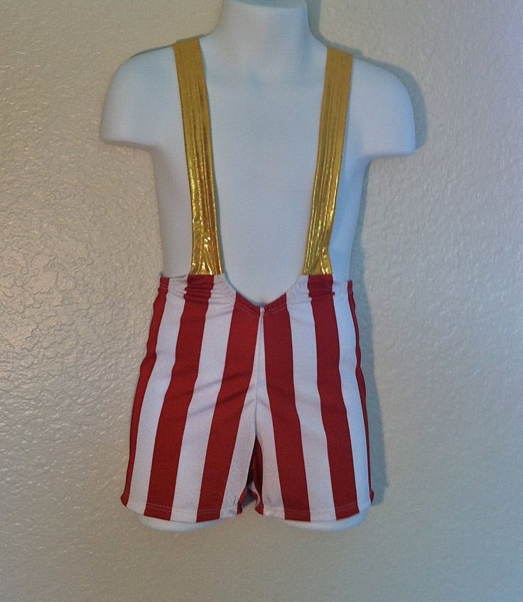 Toddler Boy Wrestling Singlet with Contrasting Straps Halloween Costume 2t 3t 4t and 5t. $37.99, via Etsy.