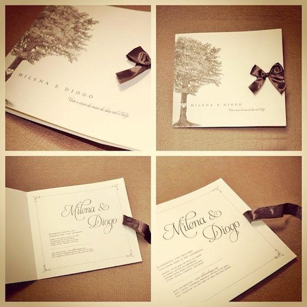 Convites de casamento da Papel & Estilo http://zankyou.terra.com.br/p/feiras-de-casamentos-que-as-noivas-de-sao-paulo-nao-podem-perder-em-2014