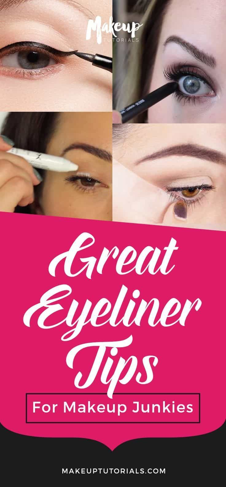 17 Great Eyeliner Hacks for Makeup Junkies | Makeup TutorialsFacebookGoogle+InstagramPinterestTumblrTwitterYouTube