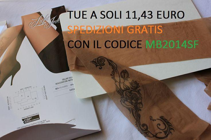 http://www.myboutique.it i collant del momento: 8 denari di puro piacere decorati con una magnifica rosa tribale, effetto abbronzatura naturale! collant, calze, tattoo ink tatuaggio sexy hot tights
