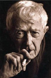Paul Bowles, an expatriate American writer, composer and wild man. He lived in Morocco for 52 years, and wrote my favourite novel The Sheltering Sky.