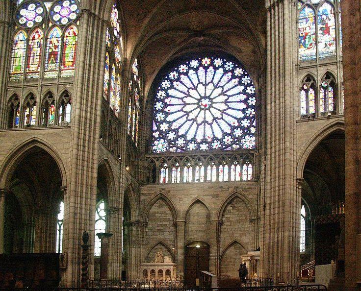 basilica of st denis interior - Google Search