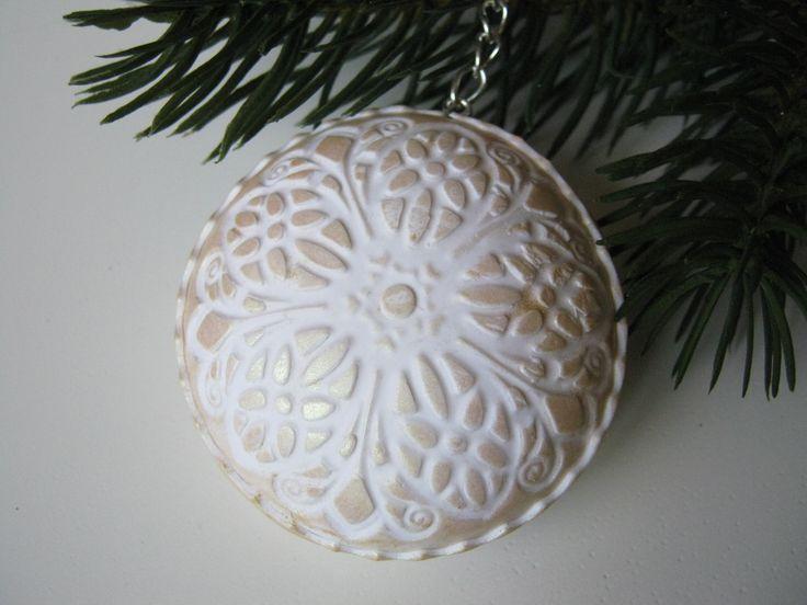 Vánoční ozdoba 3D z prema
