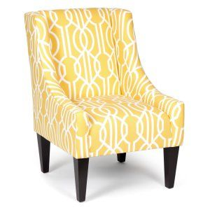 Yellow Accent Chairs on Hayneedle - Yellow Living Room Chairs                                                                                                                                                                                 More