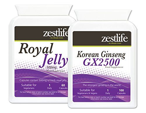 Zestlife Korean Ginseng & Royal Jelly Kombination Lifestyle-Support