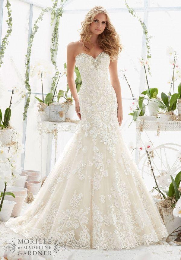 8 best Mori Lee images on Pinterest | Short wedding gowns, Wedding ...