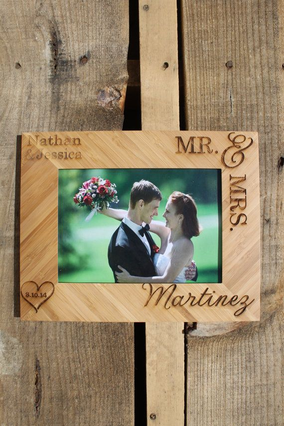 Personalized Picture Frame Custom Picture Frame by LetsEngraveIt