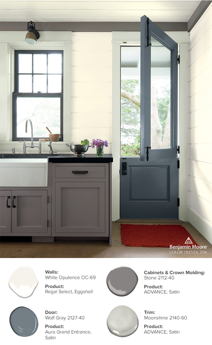 Kitchen Cupboard Colours 2018 Color Trends Color Of The Year 2019 Metropolitan Af 690 In