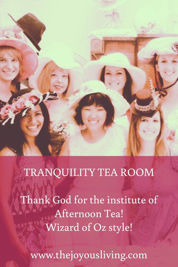 Have you ever been to TRANQUILITY TEA ROOM in Thousand ...