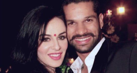 Shikhar Dhawan Wishes Wifey Ayesha In The Most Adorable Way! See Pic