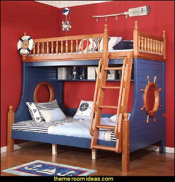 Small Kids Bedroom Design Nautical Bedroom Interior Design Art Deco Bedroom Furniture Kids Bunk Bed Bedroom: 17 Best Ideas About Child Bed On Pinterest