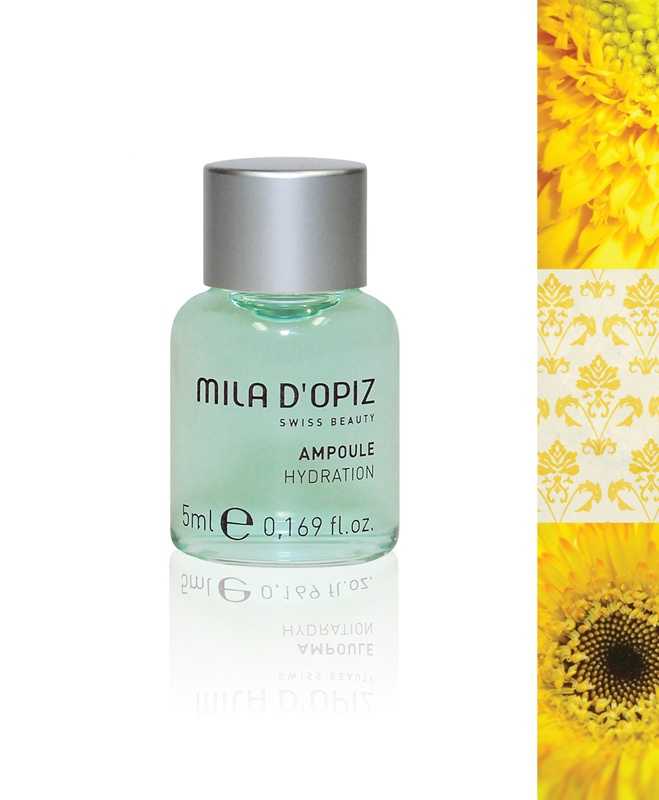 Mila d'Opiz Australia - Concentrate Collection Hydration. Suitable for all skin types. An energy booster & thirst quencher in one.