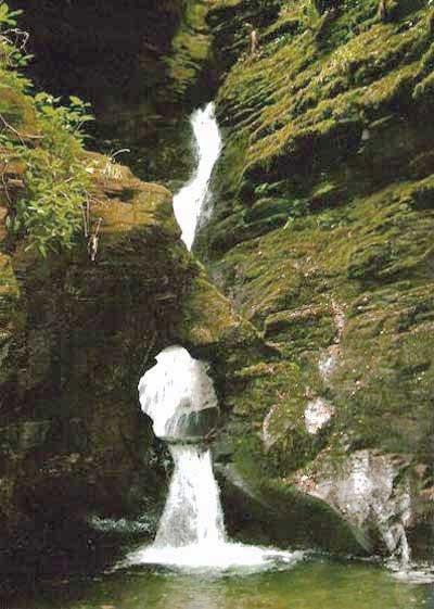 St Nectan's Glen, amazing waterfall and very spritual
