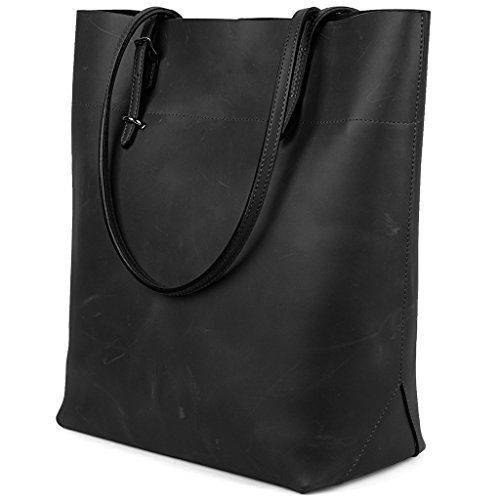 New Trending Tote Bags: YALUXE Womens Vintage Style Crazy Horse Leather Work Tote Shoulder Bag (UPGRADED 2.0) Black. YALUXE Women's Vintage Style Crazy Horse Leather Work Tote Shoulder Bag (UPGRADED 2.0) Black   Special Offer: $84.99      344 Reviews Know More About Crazy Horse Leather: 1. Crazy horse leather is a leather that has to be broken in to develop its unique distressed look. Since crazy...