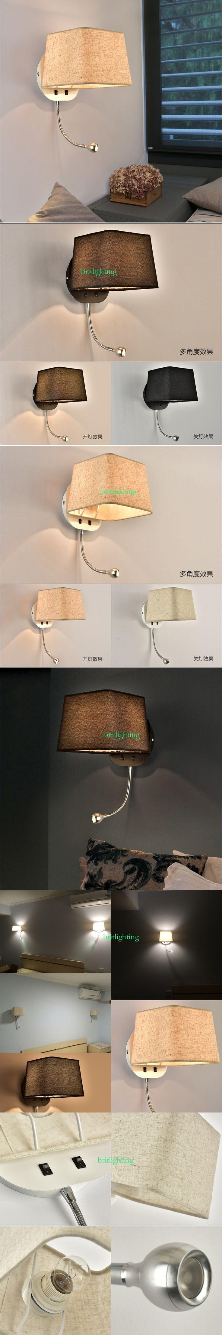 Foyer Indoor Lighting Wall Sconce Wall Mounted Light Bedroom Reading Lights  Adjustable Home Decoration Corridor Lamp Industrial