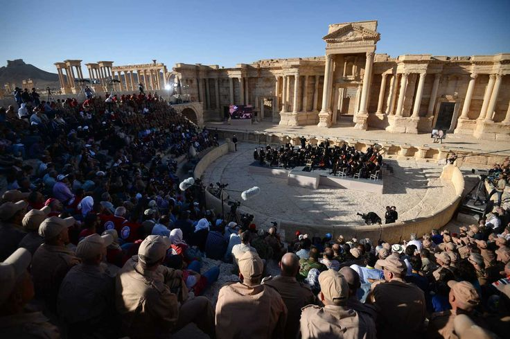 What I saw when the Russians sponsored a tour to Palmyra.
