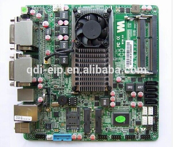 """mini-ITX industrial motherboard,onboard AMD R-460L CPU,2.0 G frequency / /4M two level cache /25W,4DVI display"""
