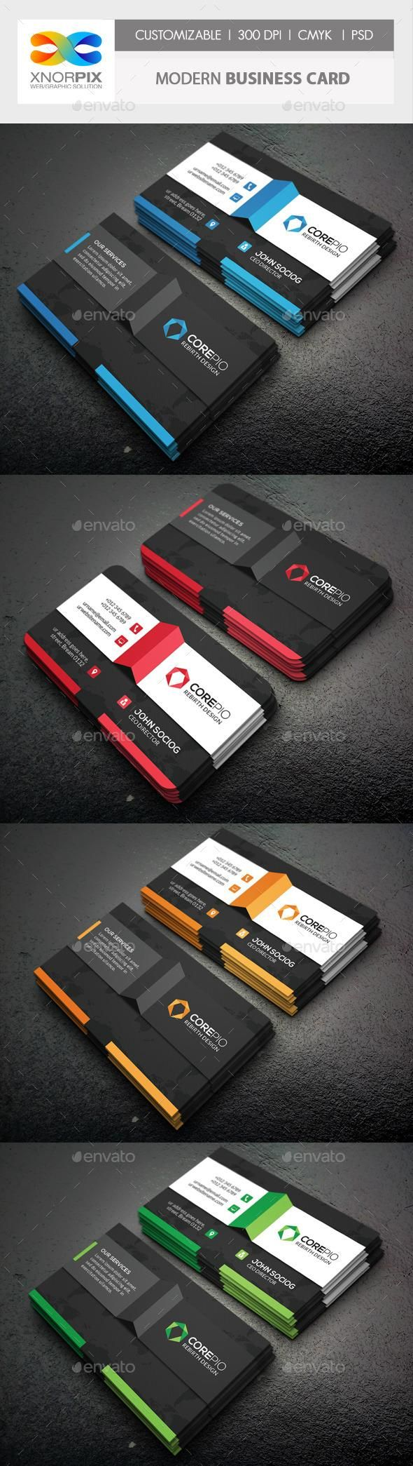 363 best Business Card Design images on Pinterest | Business card ...