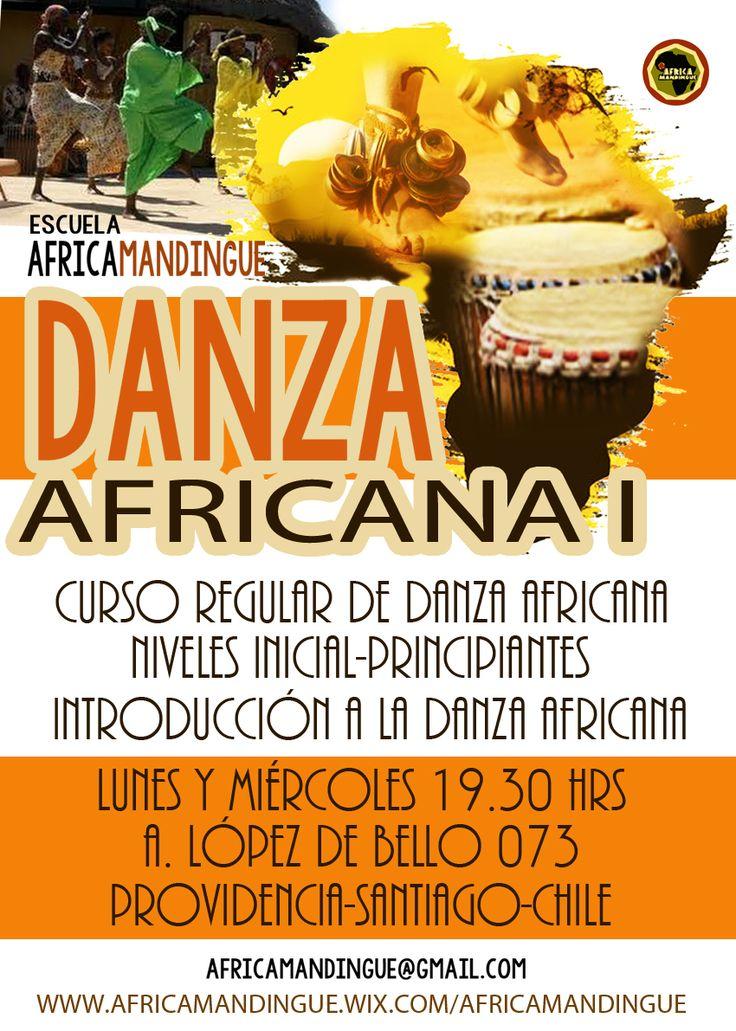 DANZA AFRICANA EN OBARA ESPACIO CREATIVO 2016