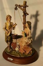 Lovers By the Well By Master sculpter AURO BELCARI DEAR Sculture Artistiche